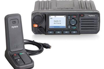 Base radio pour reception communications et alarmes